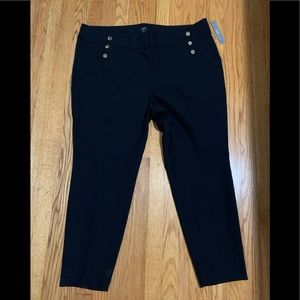 Loft Plus Skinny Slacks Pants